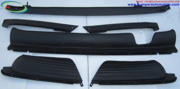 Mercedes W107 R107 bumper in stainless steel
