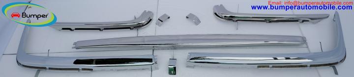 Мерседес Бенц W107 бампера повний комплект