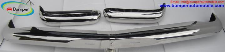 Мерседес W113 пагоді встановити бампер (1963 -1971)