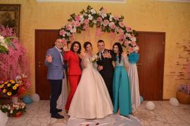 Off-site wedding registration. Host of the ceremony - Tatiana Katrich