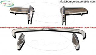 Опель ГТ бампер (1968-1973) из нержавеющей стали