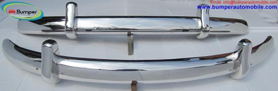 """Volkswagen """" Жук """" євро-стиль бампер (1955-1972) з нержавіючої сталі"""